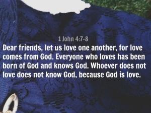 John 4:7-8 April 4th, 2014