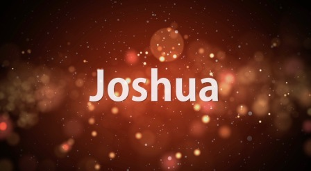 Joshua Sermon Banner